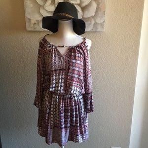 Dresses & Skirts - Boho Cold Shoulder Sundress